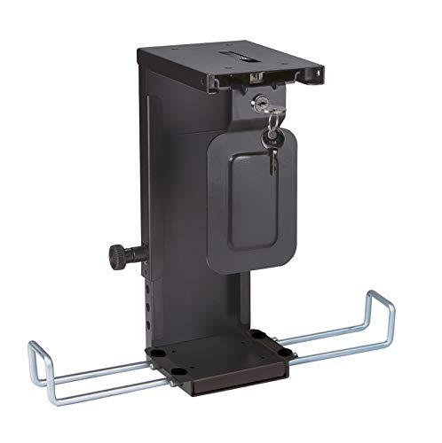 ROLINE Mini-PC-Halter, abschliessbar, schwarz - Rechner Halter Mit