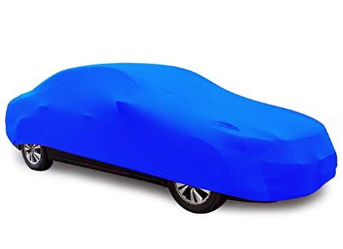 YDS SHOP Indoor Gewidmet Autoabdeckung,Passgenau Elastizität Autokleidung Geeignet für for V̈ÓLK̃ŠWÁGÉN,Garage,Autosalon,Autohändler Verwenden Sie Blau Car (Color : Lupo)