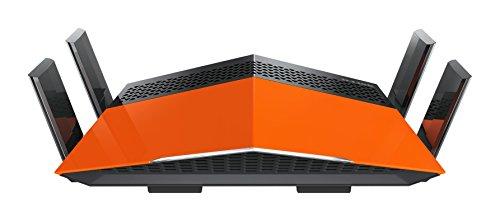 D-Link DIR-879 – Router WiFi AC 1900 EXO (Quad Band, 1900 Mbps, antenas amplificadas High Power, MIMO 3x4, 4 puertos Gigabit 10/100/1000 Mbps, 1 puerto WAN Gigabit, WPS, WPA2, QoS)