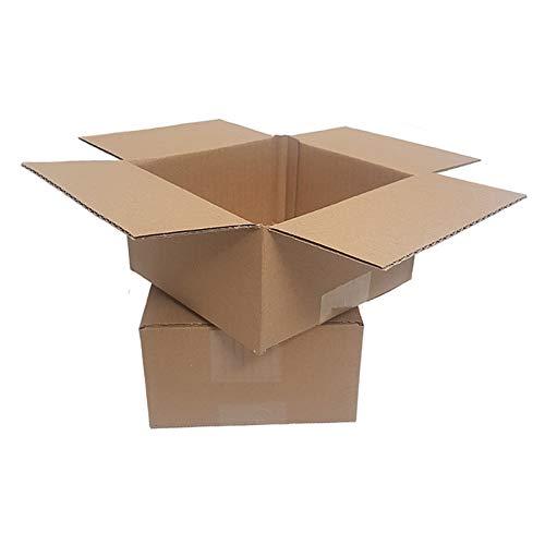 25 Faltkartons 150x150x80 mm 1 wellig kleiner Versandkarton KK 05