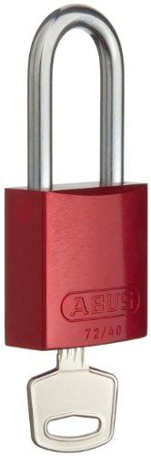 Brady,/tagout Candado Bloqueo de aluminio llave diferente, 1-3/5