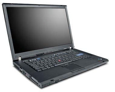 Lenovo ThinkPad T60 Notebook Intel Core Duo T2400 1.83GHz 1024MB 60GB 14.1 inch XGA TFT CD-RW/DVD Modem LAN WLAN XP Pro