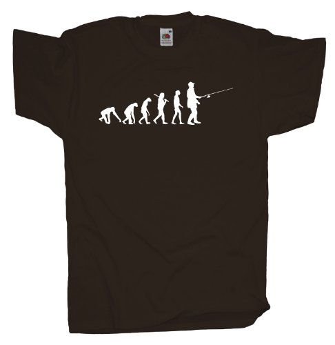 Ma2ca - Evolution - Angler Angelroute T-Shirt Chocolate