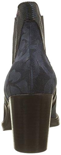 Donna Piu 9588 Brigida, Bottes Classiques Femme Bleu (Fenice Blu Notte/Sunset Blu)