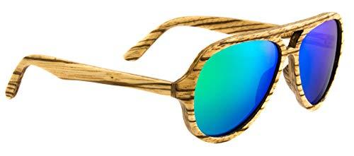 Laimer herbert, occhiali da sole uomo, beige/brown/green, 54