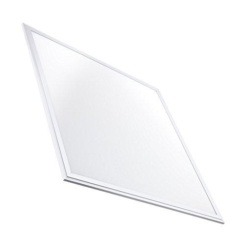Panel LED Slim 60x60cm 40W 3200lm Marco Blanco Blanco Frío 6000k-6500K efectoLED