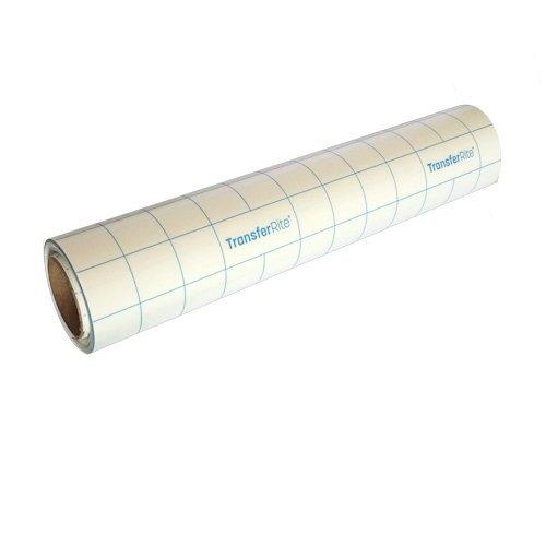 Vinyl 30,5cm X 20FT Rolle Übertragung Tape mit Blau Raster für perfekte Ausrichtung für Cricut, Silhouette Cameo, Klebefolien für Selbstklebendes Vinyl Aufkleber, Schilder, Wände und mehr-V0826 (Vinyl-wand-aufkleber)