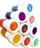 Food Colouring Icing colours liquid 8x12ml (20g) + 1 x...
