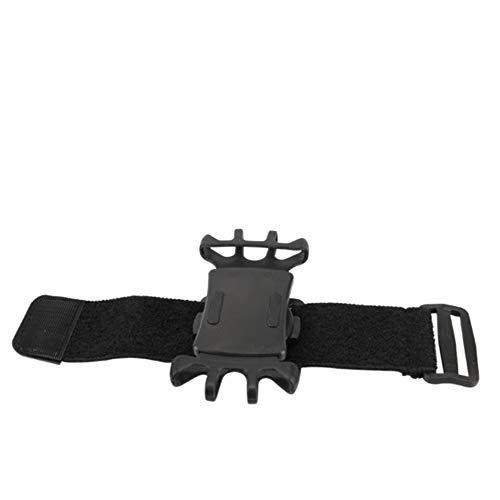 Dcola Drehbare Outdoor-Sportarten Handy-Armband Reiten Arm Tasche Arm Fitness Männer und Frauen Handgelenk Set Handgelenk Tasche 180 ° drehbarer Handyhalter zum Laufen