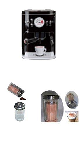 Conny Clever Kaffeedose, Kaffeedose Luftdicht, Kaffeedose 1000 gr schwarz