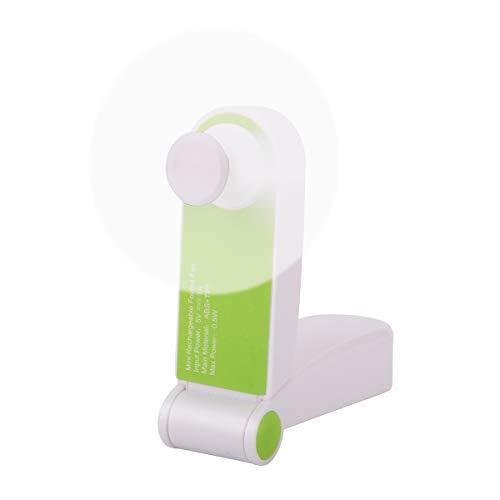 Mini ventilador de mano - Plegable Personal USB Recargable Escritorio portátil Mesa...