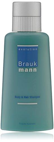 Hildegard Braukmann Evolution homme/men, Body & Hair Shampoo, 1er Pack (1 x 250 ml)