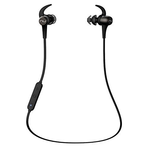 Oferta de NuForce BE Sport 3 - Auriculares in-Ear inalámbricos Bluetooth magnéticos, Color Gris