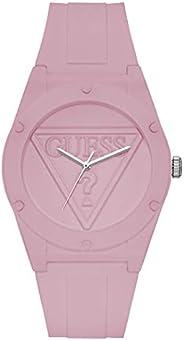ساعة للنساء بسوار من البولي كربونات ومينا زهري وعرض انالوج من جيس - W0979L5