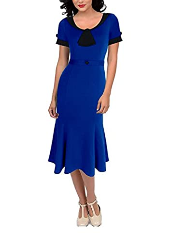 Sparkling YXB Women's Pencil Dress Medium Royal Blue