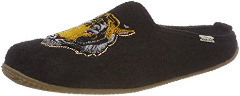 Living Kitzbühel Pantoffel Tiger Patch, Zapatillas de Estar por Casa para Mujer