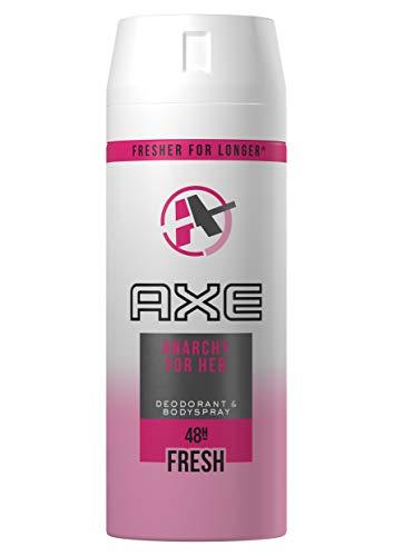 AXE Anarchy for Her - Desodorante Bodyspray para mujer, protección, de 48 horas 150 ml, pack de 3