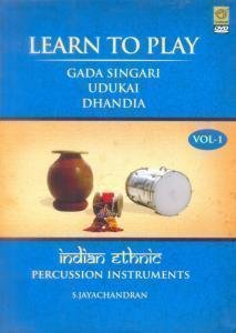 Geethaanjali (Super Video Madras) Learn To Play Indian Ethnic Percussion Instruments - Part 1 (Gada Singari/Udukai/Dhandia)