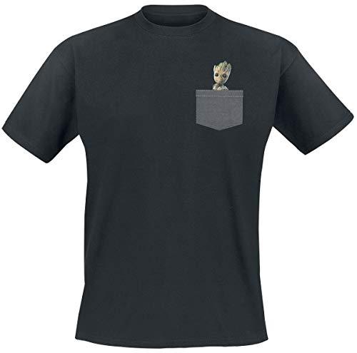 ABYstyle - Marvel - Tshirt Pocket Groot Homme...