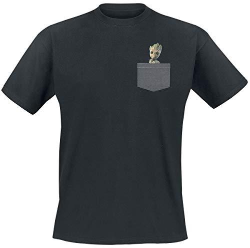 Guardians of the Galaxy 2 - Groot T-Shirt schwarz M