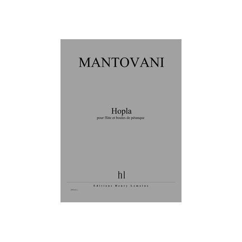 Hopla --- Flûte et Boules de Petanque