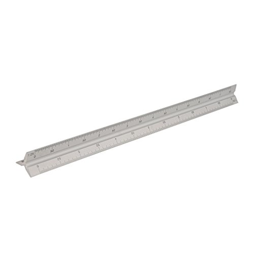 Silverline Tools 731001 - Regla (tamaño: 300mm)