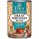 Eden Foods Great Northern Beans 15 Oz (Pack Of 12) - Pack Of 12