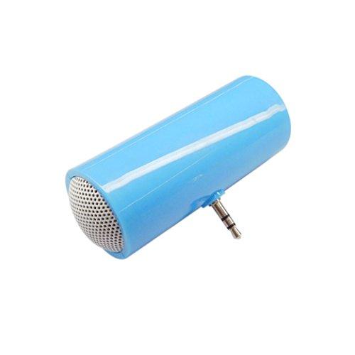 SO-buts Mobile Audio, 3,5-mm-Musik-Player, Stereo-Lautsprecher, ist für iPod-Handys iPhone6 und Note4 (Blau) - 3.5 Mm Mobile