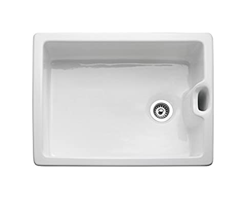 Rangemaster Sink collection - Available in a variety of Styles, Sizes and Finishes (Classic Belfast Sink - Ceramic - Single Bowl - 595mm X 455mm)
