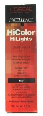 L'Oreal Excellence Hicolor Highlights Red 35 ml (3er-Pack) -