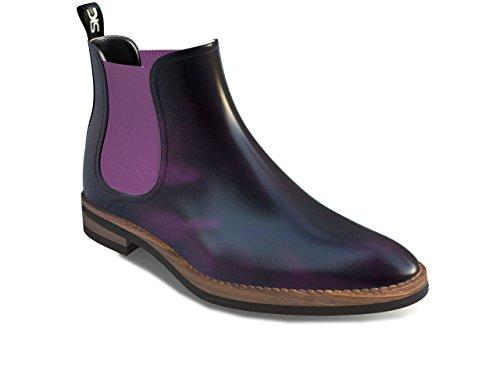 DIS - Samantha - Chelsea Boot - Femme Violet