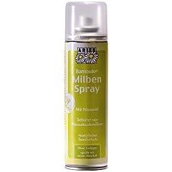 ARIES Spray antiácaros para protección textil - Spray antiácaros para colchones, tapicería, ropa de cama, textiles y alfombras - 50 ml