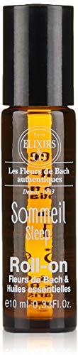 Elixirs & Co Roll-on Sommeil aux Fleurs de bach et Huiles essentielles BIO 10 ml