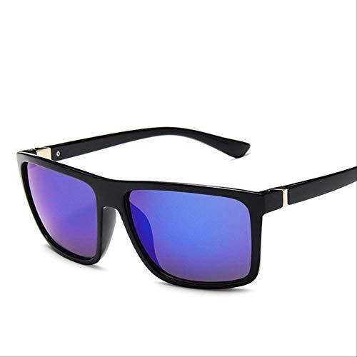 Gafas De Sol Para Hombre Mujeres Cuadrado Uv400 Protección Reflectante Espejo Al Aire Libre Gafas De Conducción Regalos SIN CASO c1