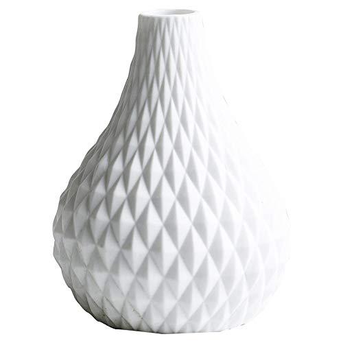 Anfangs unver ndert Florero decorativos modernos Home Nordic Keramik Vase Blumen@HP-111B (Diamant) (Diamant Hewlett)
