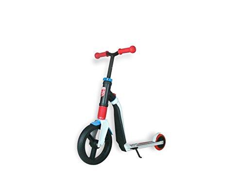 Authentic Sports & Toys, Monopattino bambini, modello Highwayfreak 3.0, Bianco (Weiß/Rot/Blau)