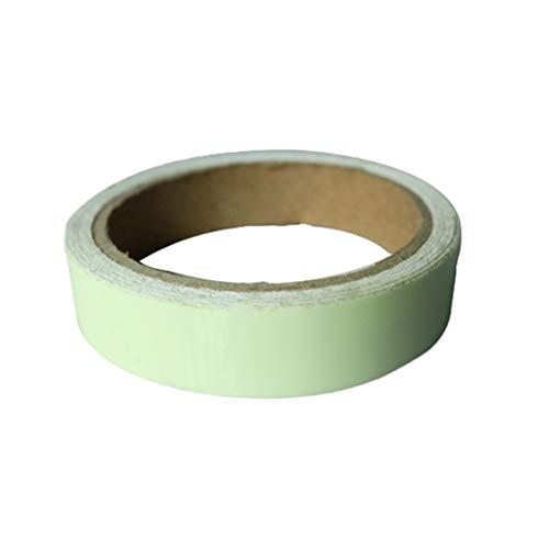 WEIHAN Green Glow Tape Sicherheitsaufkleber Abnehmbarer Leuchtstreifen Fluoreszierender Selbstklebender Aufkleber Glowing Dark Striking Warning Tape