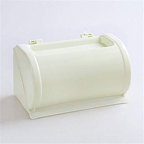 Mouchao Tissue Box kreisförmige Pumpschale Plexiglas Toilettenpapierhalter Serviettenhalter grün