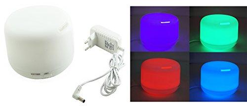 Benice Aroma Diffuser 300ml Ultraschall Luftbefeuchter mit Farbwechsel elektrische Duftlampe Lufterfrischer Ätherische Öle Vernebler Timer LED A770 ...