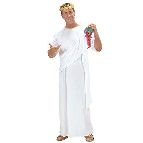 Costume Magna Grecia toga romana bianco tagliaunisex dea greca abito antichità - M UNISEX