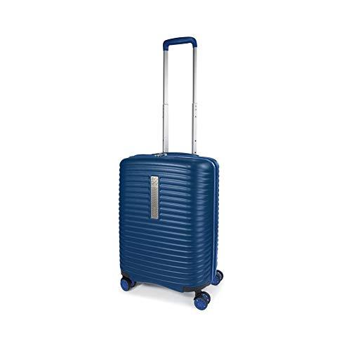 MODO by Roncato Bagaglio A Mano Vega Blu, Misura: 55x40x20/25 Cm, Peso: 2.9 Kg, Capacità: 39/47 L