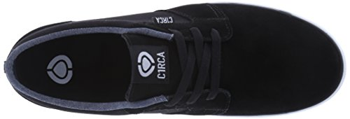 C1RCA Mens Hesh 2.0 Durable Lightweight Insole Skate Shoe Black/White