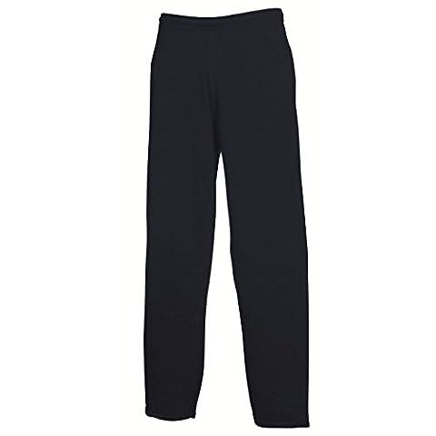 Leichte Jogginghose mit offenem Beinabschluss Farbe Navy Größe M (Damen Jogginghosen)
