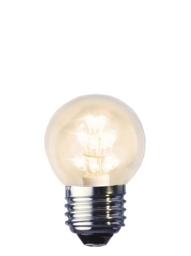 Best Season 336-31 Decoline Ersatzglühbirne LED, E27, 2100 K, klar, Rundform, 230V