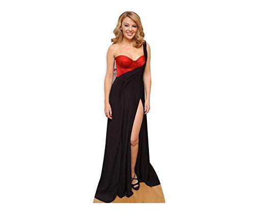 Minogue Kostüm Kylie - Star Cutouts Pappaufsteller von Kylie Minogue