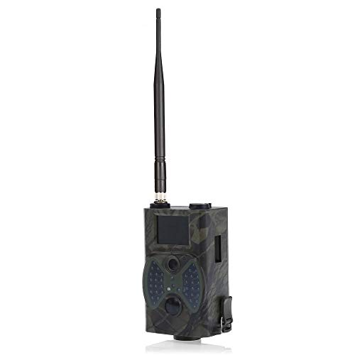 Haiyemao HD Kamera Scouting-Kamera HC300M 12 Megapixel Digital Scouting Camera Support Remote Control 2G MMS E-Mail GPRS GSM 940NM Infrared Night Vision Vintage Ledergürtel für Fotografen Digitale Nacht Vision Webcam