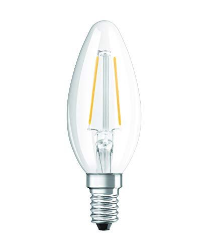 Osram 203300 Retrofit Classic Ampoule LED E14 2,1 W Plastique Blanc