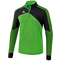 Erima GmbH Premium One 2.0 Top de Deporte, Unisex niños, Verde/Negro / Blanco, 128