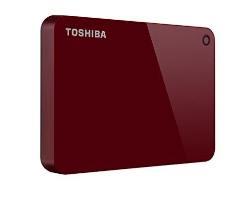 Toshiba Canvio Connect II Tragbare 1TB Festplatte rot rot 2TB