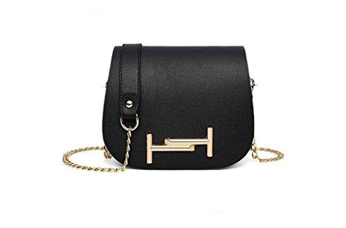 Nuove borse, signore di modo del sacchetto di spalla di modo, sacchetto della catena per il tempo libero, spalla, Messenger bag black